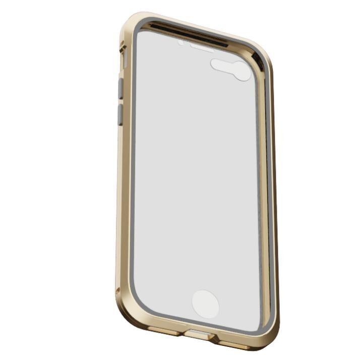 iPhone8/7 ケース アルミバンパー 360STRONG ゴールド iPhone 8/7_0