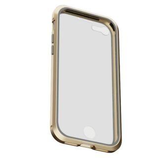 iPhone8/7 ケース アルミバンパー 360STRONG ゴールド iPhone 8/7