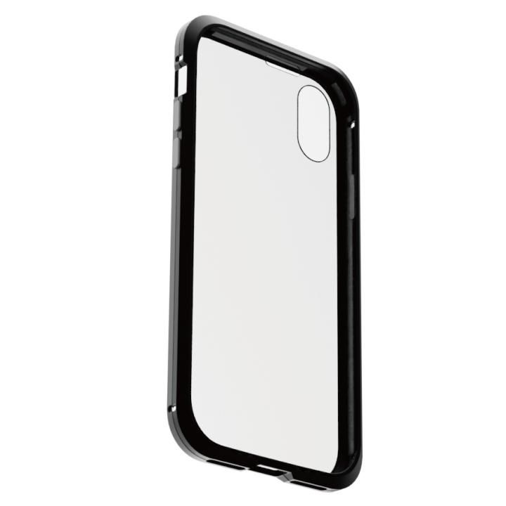 iPhone XS/X ケース アルミバンパー 360STRONG ブラック iPhone XS/X_0