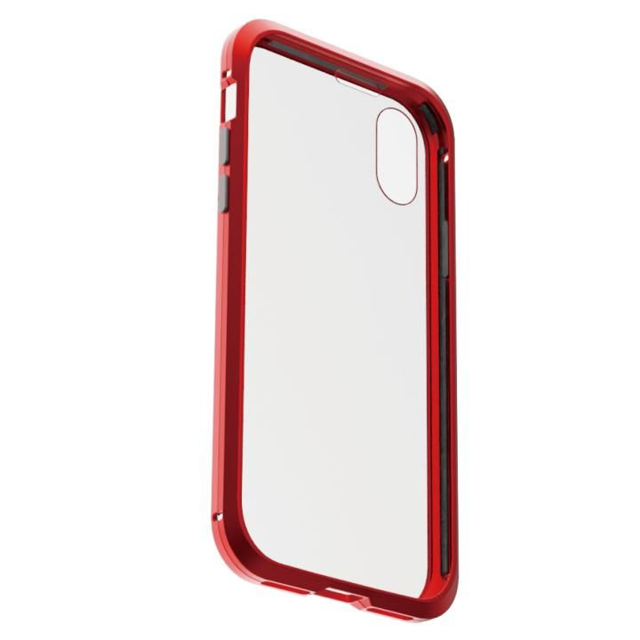 iPhone XS/X ケース アルミバンパー 360STRONG レッド iPhone XS/X_0