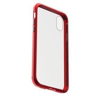 iPhone XS/X ケース アルミバンパー 360STRONG レッド iPhone XS/X【7月下旬】