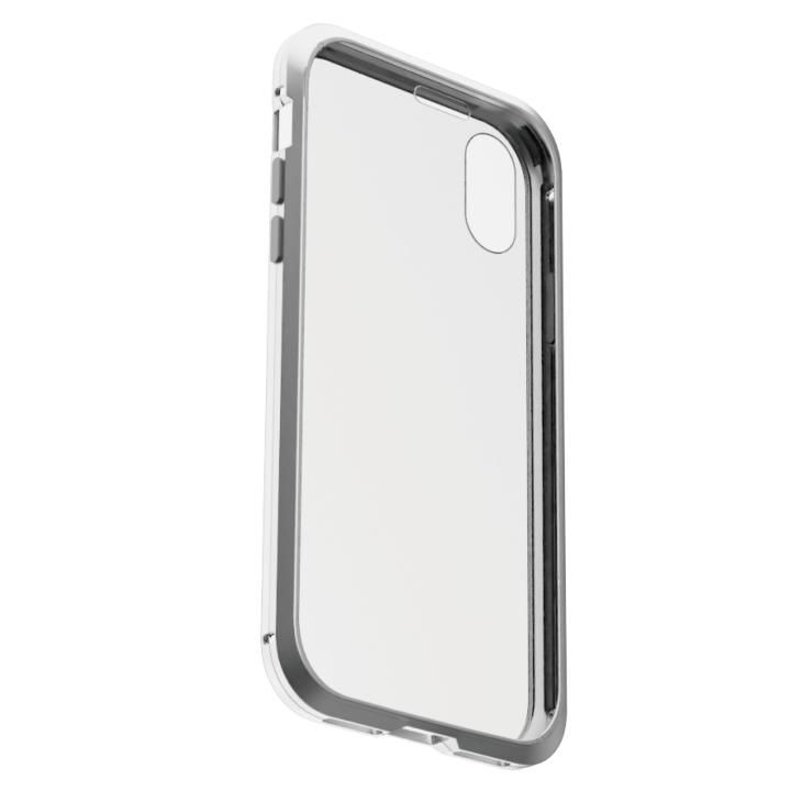 iPhone XS/X ケース アルミバンパー 360STRONG シルバー iPhone XS/X_0
