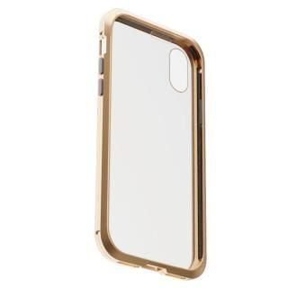iPhone XS/X ケース アルミバンパー 360STRONG ゴールド iPhone XS/X