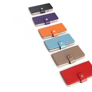 【iPhone6ケース】ドイツ製本革使用手帳型ケース invite.L Stud レッド iPhone 6_2