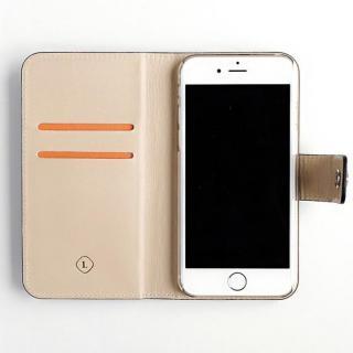 【iPhone6ケース】ドイツ製本革使用手帳型ケース invite.L Stud レッド iPhone 6_3