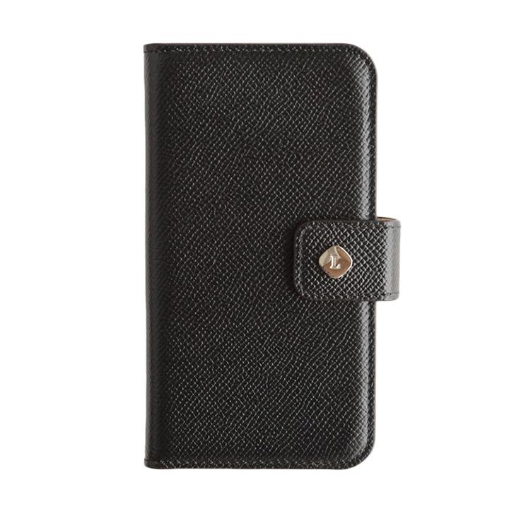 【iPhone6ケース】ドイツ製本革使用手帳型ケース invite.L Stud ブラック iPhone 6s/6_0