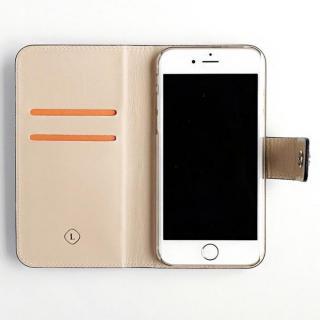 【iPhone6ケース】ドイツ製本革使用手帳型ケース invite.L Stud ブラック iPhone 6s/6_6
