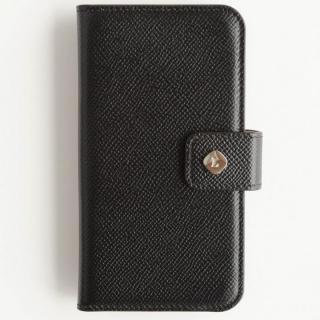 ドイツ製本革使用手帳型ケース invite.L Stud ブラック iPhone 6 Plus