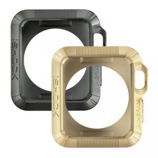 Apple Watch 38mmケース INGRAM iSHOCK グレー&ゴールド