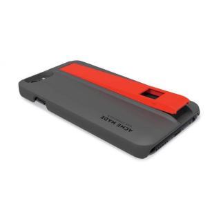 【iPhone6ケース】Lightningケーブル付きケース Charge グレイ/オレンジ iPhone 6_2