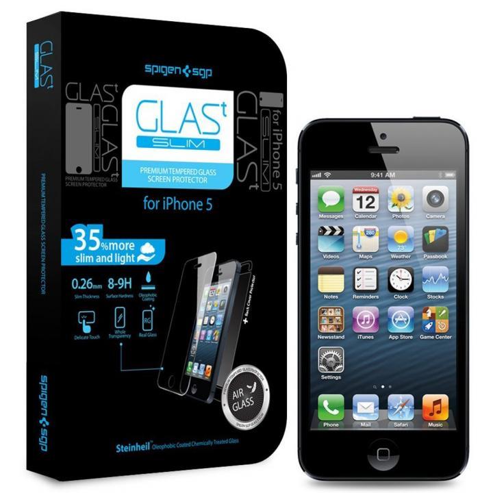iPhone SE/5s/5 フィルム 【iPhone SE/5s/5c/5】シュタインハイル GLAS.t スリム 保護フィルム(背面保護フィルム同梱)_0