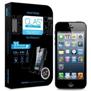iPhone SE/その他の/iPod フィルム 【iPhone SE/5s/5c/5】シュタインハイル GLAS.t スリム 保護フィルム(背面保護フィルム同梱)