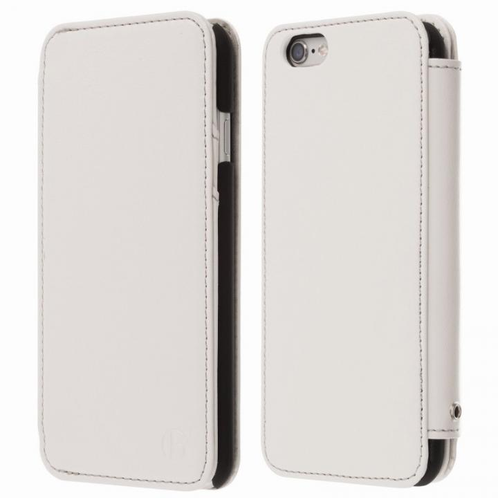 Highend Berryオリジナル 本革手帳型ケース ホワイト iPhone 6s Plus/6 Plus