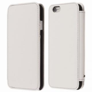 【iPhone6s Plus/6 Plusケース】Highend Berryオリジナル 本革手帳型ケース ホワイト iPhone 6s Plus/6 Plus