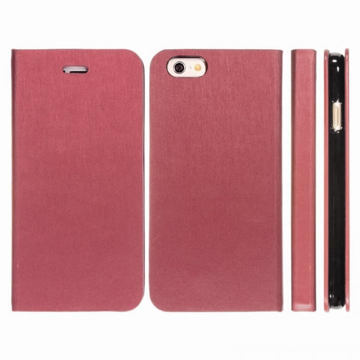 【iPhone6ケース】Highend Berryオリジナル 合皮手帳型ケース ボルドー iPhone 6_0