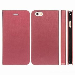 Highend Berryオリジナル 合皮手帳型ケース ボルドー iPhone 6s Plus/6 Plus