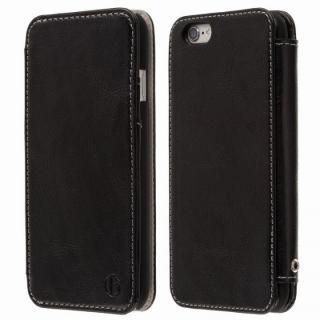 Highend Berryオリジナル 本革手帳型ケース ブラック iPhone 6s Plus/6 Plus