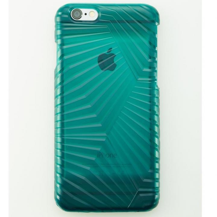 【iPhone6ケース】次元シリーズ 峰 3Dテクスチャー カードポケットケース 翡翠 iPhone 6_0