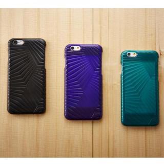 【iPhone6ケース】次元シリーズ 峰 3Dテクスチャー カードポケットケース 翡翠 iPhone 6_4