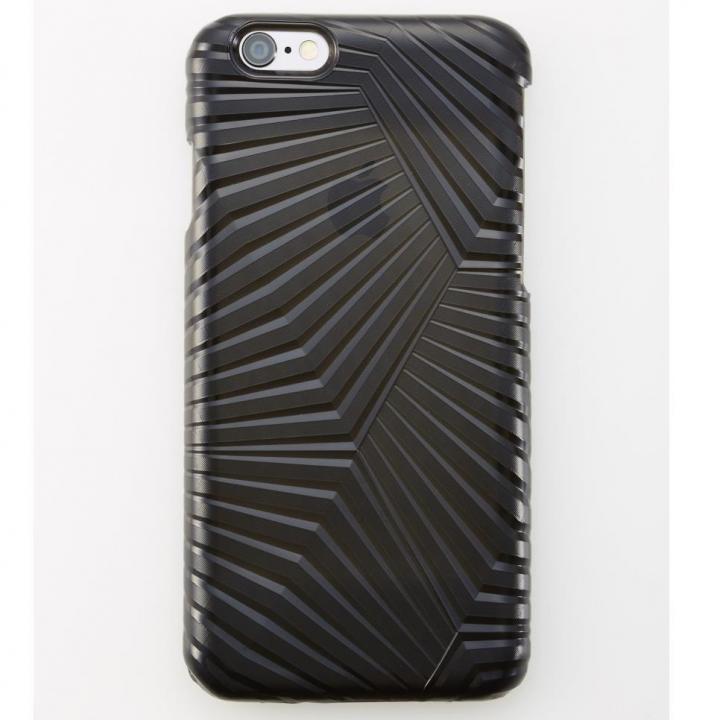【iPhone6ケース】次元シリーズ 峰 3Dテクスチャー カードポケットケース 宵 iPhone 6_0
