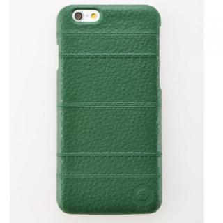 iPhone6 ケース 次元シリーズ 縫 3Dテクスチャー カードポケットケース 碧緑 iPhone 6