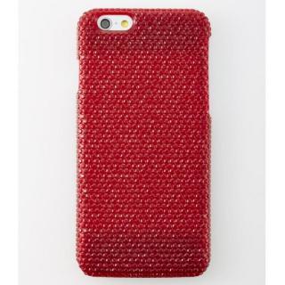 iPhone6 ケース 次元シリーズ 輝 3Dテクスチャー カードポケットケース 柘榴 iPhone 6
