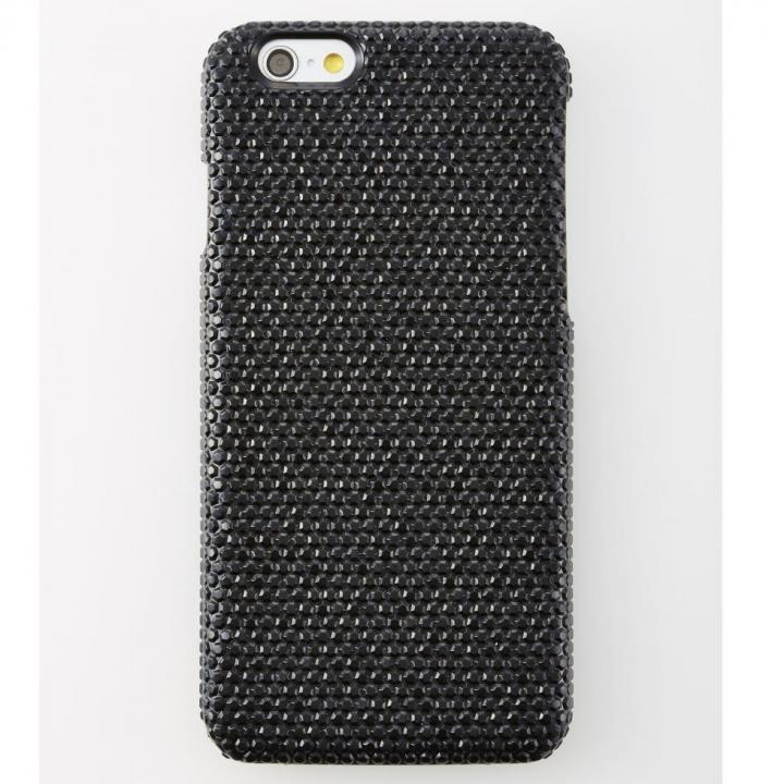 iPhone6 ケース 次元シリーズ 輝 3Dテクスチャー カードポケットケース 黒曜石 iPhone 6_0