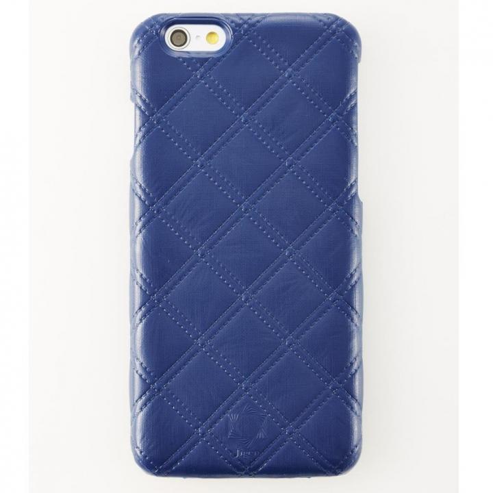 【iPhone6ケース】次元シリーズ 衲 3Dテクスチャー カードポケットケース 鉄紺 iPhone 6_0