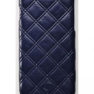 【iPhone6ケース】次元シリーズ 衲 3Dテクスチャー カードポケットケース 鉄紺 iPhone 6_1