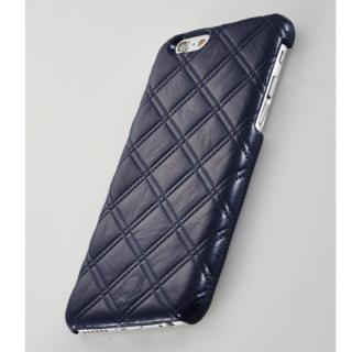 【iPhone6ケース】次元シリーズ 衲 3Dテクスチャー カードポケットケース 鉄紺 iPhone 6_2
