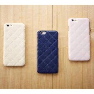 【iPhone6ケース】次元シリーズ 衲 3Dテクスチャー カードポケットケース 鉄紺 iPhone 6_4