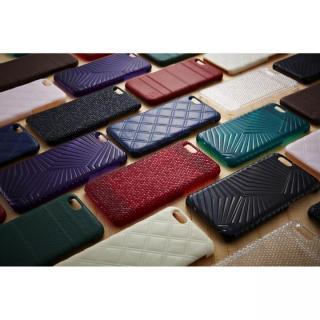 【iPhone6ケース】次元シリーズ 衲 3Dテクスチャー カードポケットケース 鉄紺 iPhone 6_7