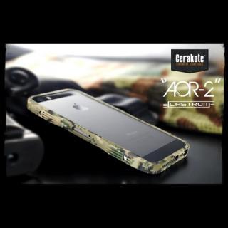 【iPhone SE/5s/5ケース】【限定】CASTRUM ミリタリーアルミバンパー AOR-2 iPhone SE/5s/5ケース_1