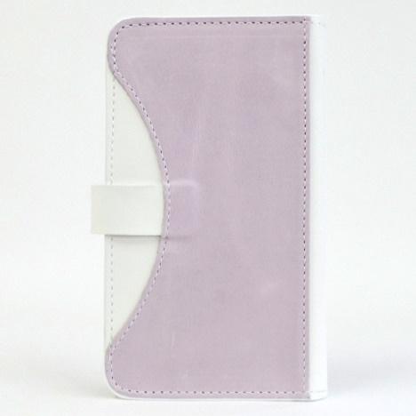 iPhone6/SE/5s/5 ケース mobakawa mbook 本革手帳型ケース Mサイズ ラディアント・オーキッド 多機種(iPhone/Android)対応_0