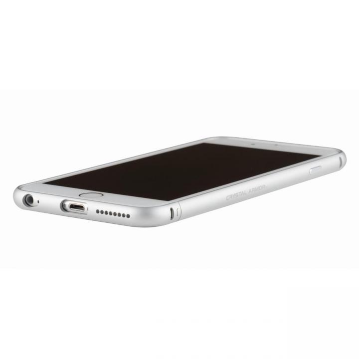 iPhone6s Plus/6 Plus ケース クリスタルアーマー メタルバンパー プレーンシルバー iPhone 6s Plus/6 Plus_0