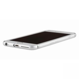 クリスタルアーマー メタルバンパー プレーンシルバー iPhone 6s Plus/6 Plus