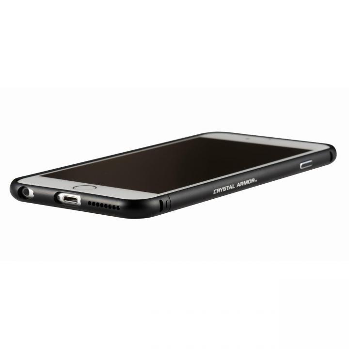 iPhone6s Plus/6 Plus ケース クリスタルアーマー メタルバンパー オールブラック iPhone 6s Plus/6 Plus_0