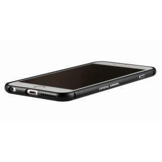 クリスタルアーマー メタルバンパー オールブラック iPhone 6 Plus