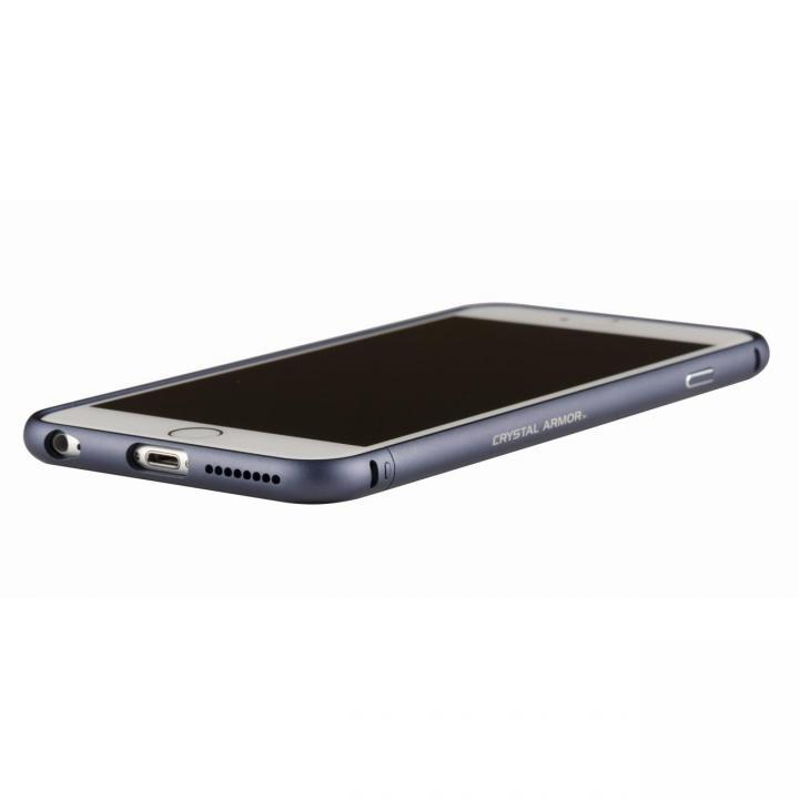 クリスタルアーマー メタルバンパー ネイビー iPhone 6s Plus/6 Plus