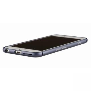 iPhone6s Plus/6 Plus ケース クリスタルアーマー メタルバンパー ネイビー iPhone 6s Plus/6 Plus