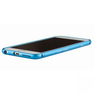 クリスタルアーマー メタルバンパー ライトニングブルー iPhone 6s Plus/6 Plus