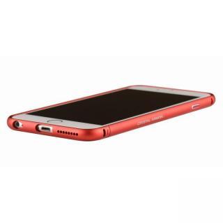 クリスタルアーマー メタルバンパー メタルレッド iPhone 6 Plus