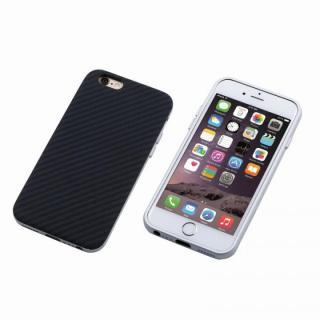 【iPhone6 Plusケース】Deff ハイブリッドケース UNIO ケブラー シルバー iPhone 6 Plus
