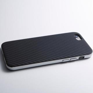 【iPhone6 Plusケース】Deff ハイブリッドケース UNIO ケブラー シルバー iPhone 6 Plus_1