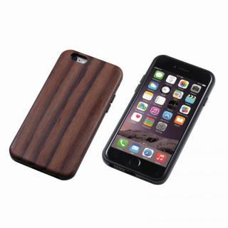 iPhone6s Plus/6 Plus ケース Deff ハイブリッドケース UNIO 黒檀 ブラック iPhone 6s Plus/6 Plus
