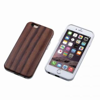 iPhone6s Plus/6 Plus ケース Deff ハイブリッドケース UNIO 黒檀 シルバー iPhone 6s Plus/6 Plus