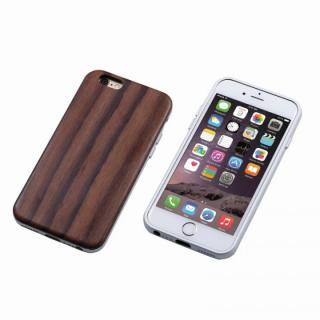 Deff ハイブリッドケース UNIO 黒檀 シルバー iPhone 6s Plus/6 Plus