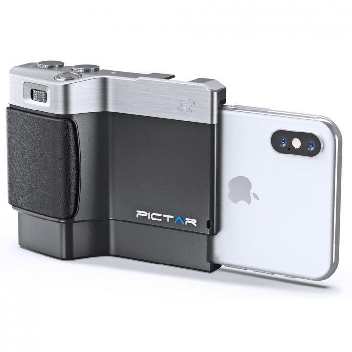 iPhone用カメラグリップ Pictar One Plus Mark II iPhone XS/XS Max/XR/X/8 Plus/7 Plus/6s Plus/6 Plus_0