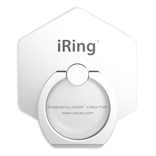 AAUXX iRing スマホリング 落下防止 Hex パールホワイト_0