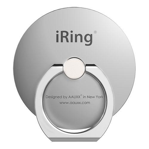 AAUXX iRing スマホリング 落下防止 Circle シルバー_0